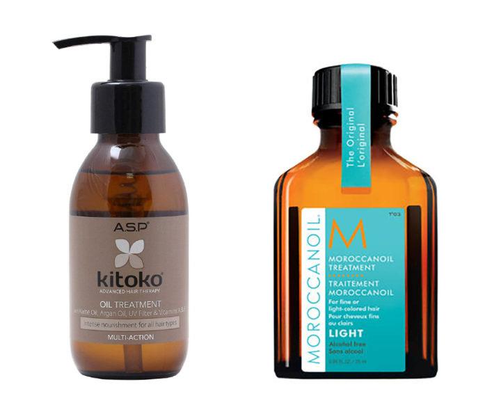 Kitoko Oil vs Moroccan Oil