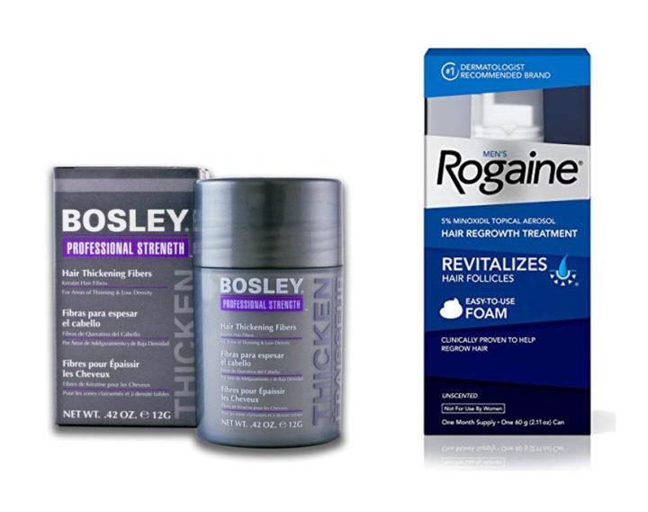 Bosley vs Rogaine