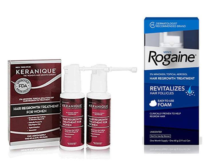 Keranique vs Rogaine