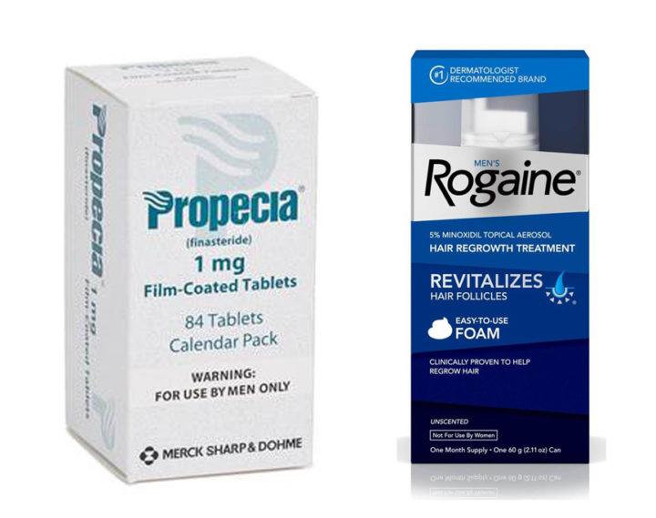 Propecia vs Rogaine