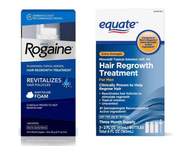 Rogaine vs Equate