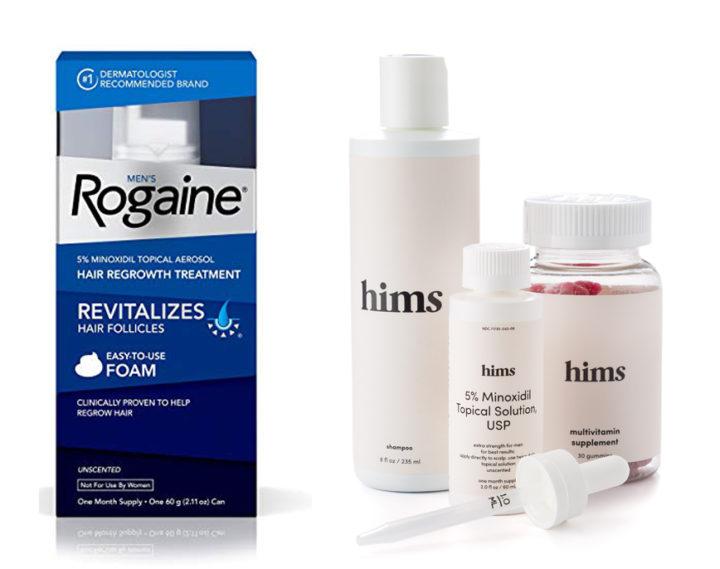 Rogaine vs Hims