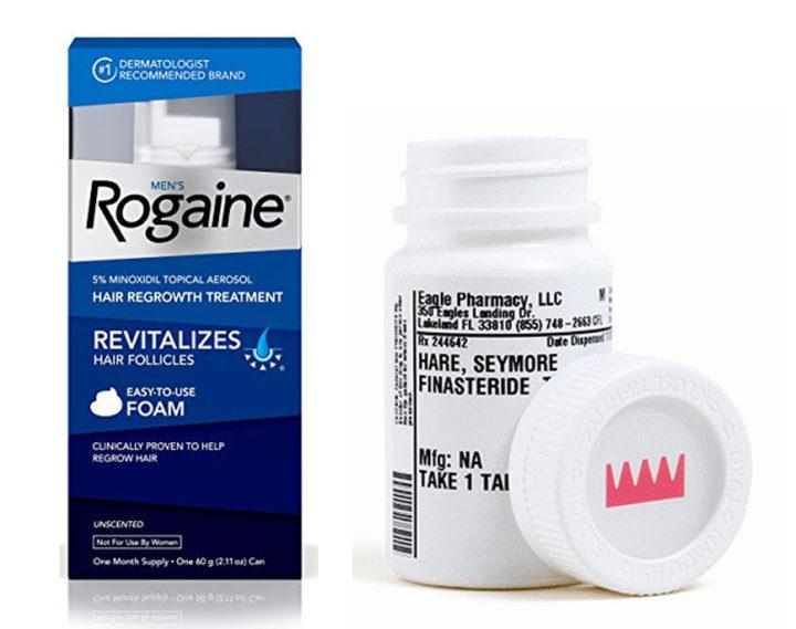 Rogaine vs Keeps