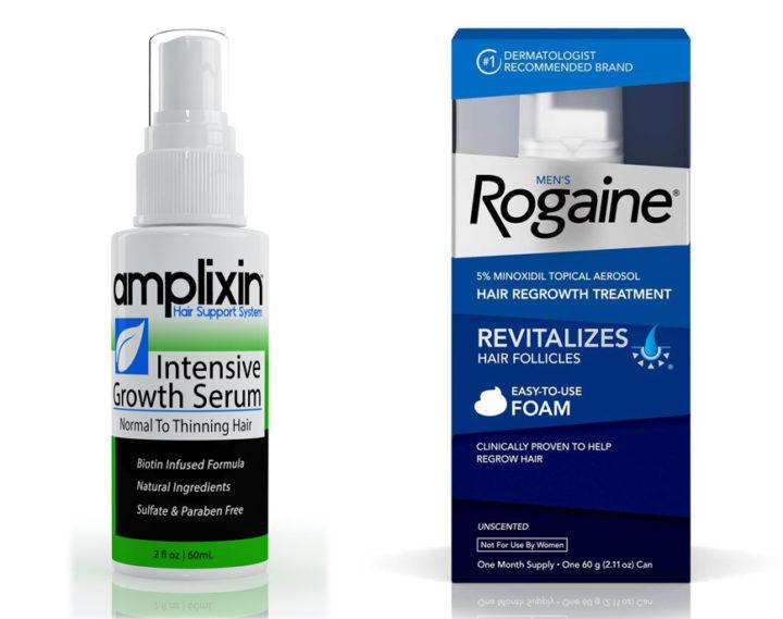 Amplexin vs Rogaine