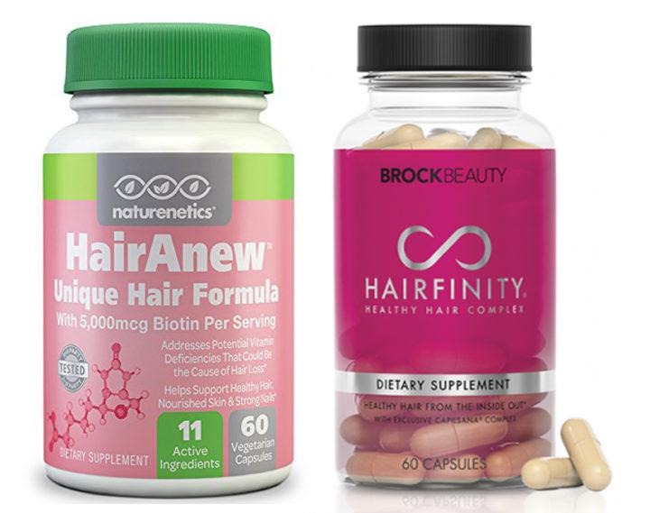 HairAnew vs Hairfinity