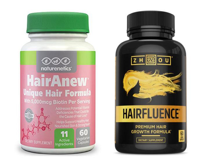 HairAnew vs Hairfluence