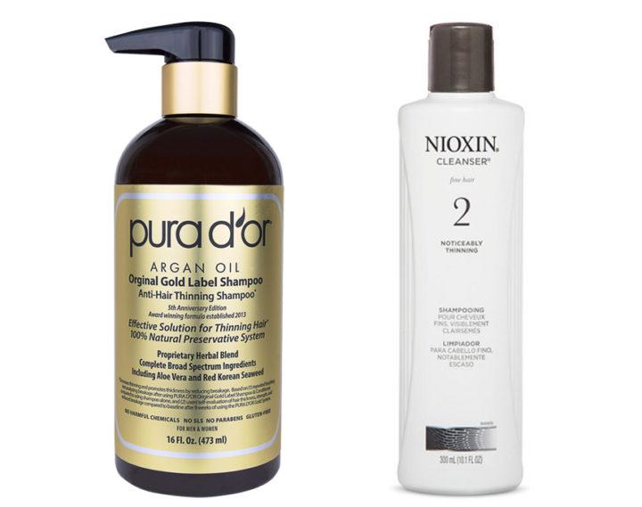 Pura D'or vs Nioxin
