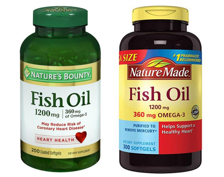 Nature's Bounty vs Nature Made Fish Oil