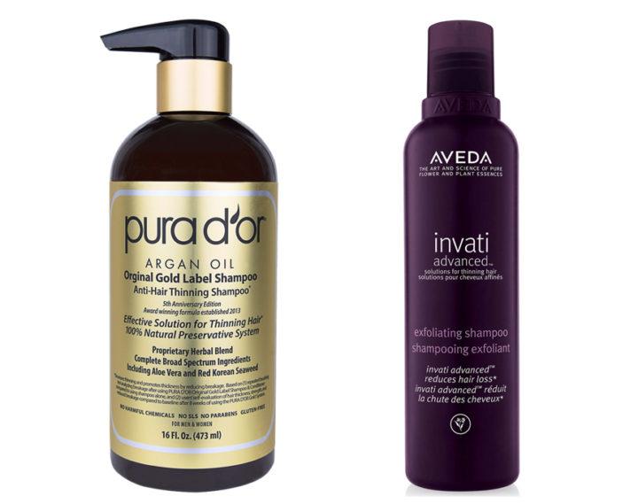 Pura D'or vs Aveda