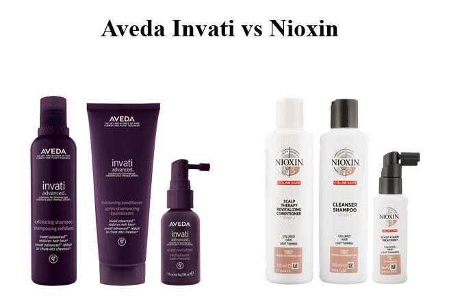 Aveda Invati vs Nioxin