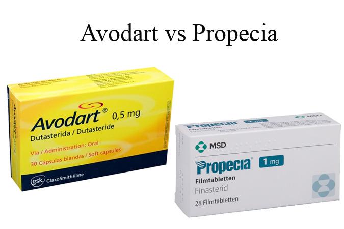 Avodart vs Propecia