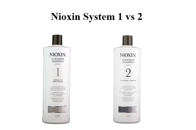 Nioxin System 1 vs 2