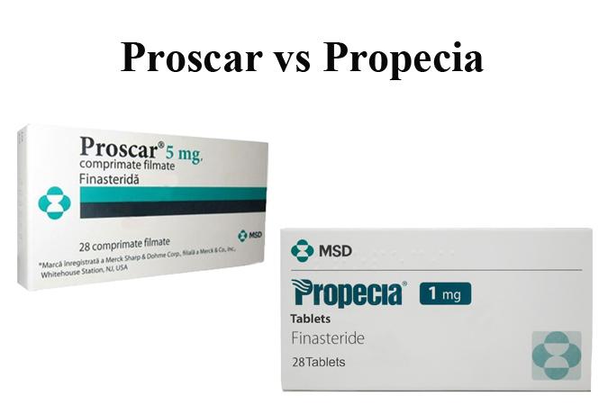 Proscar vs Propecia