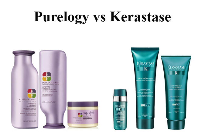Pureology vs Kerastase