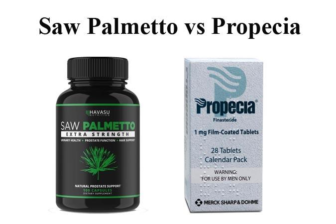 Saw Palmetto vs Propecia
