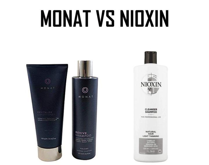Monat vs Nioxin