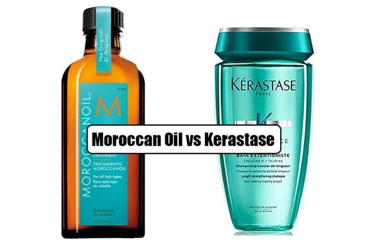 Moroccan Oil vs Kerastase