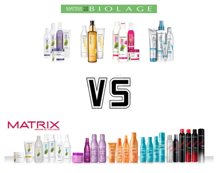 Biolage vs Matrix