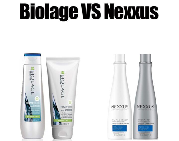 Biolage vs Nexxus