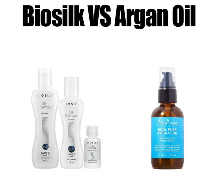 Biosilk Vs Argan Oil