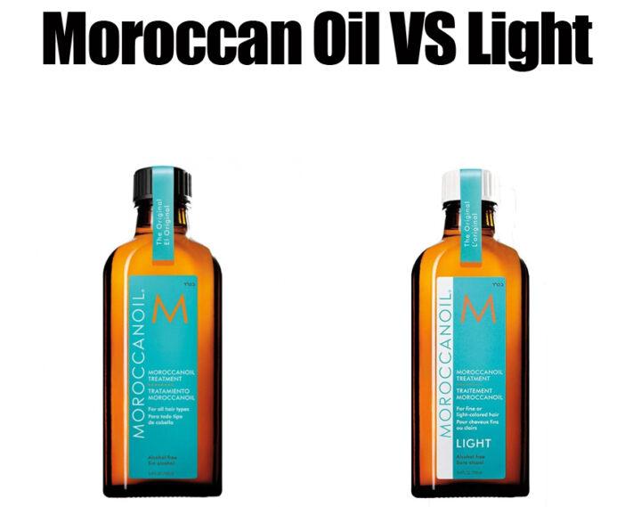 Moroccan Oil vs Light