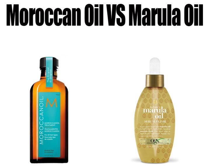 Moroccan Oil vs Marula Oil