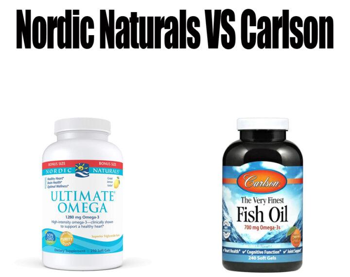 Nordic Naturals vs Carlson